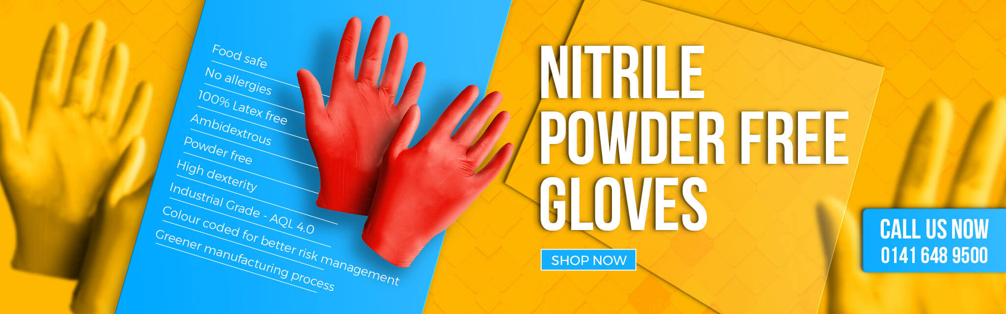Disposable Gloves | Promotional Warehouse