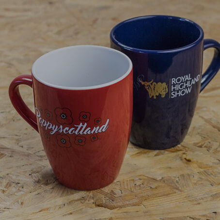 branded mugs and drinkware