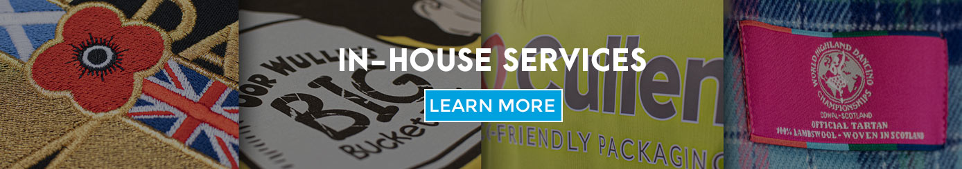 In-house services at Promotional Warehouse