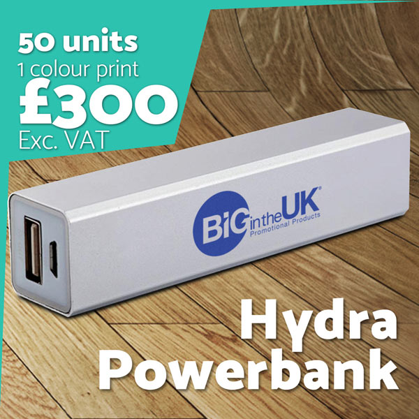 Branded Hydra Powerbank