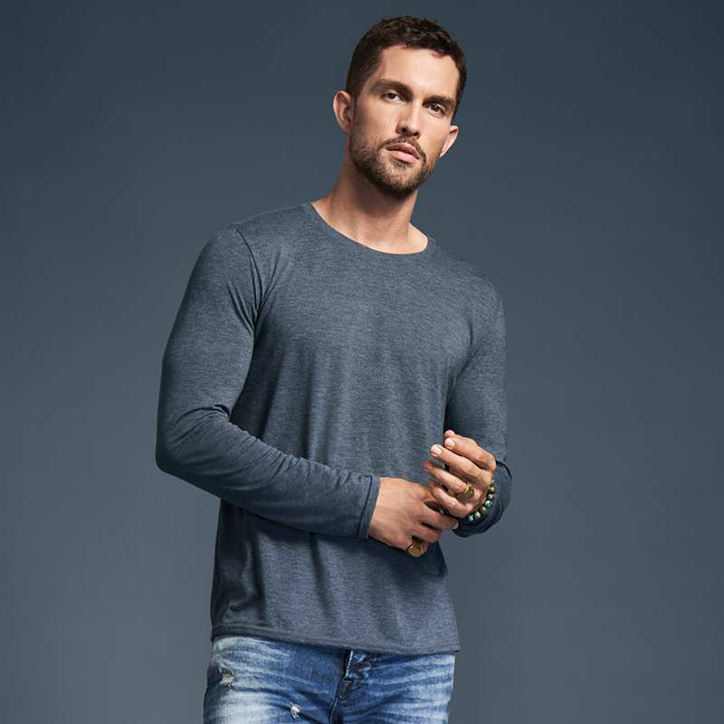 Adult Triblend Long-sleeve Tee