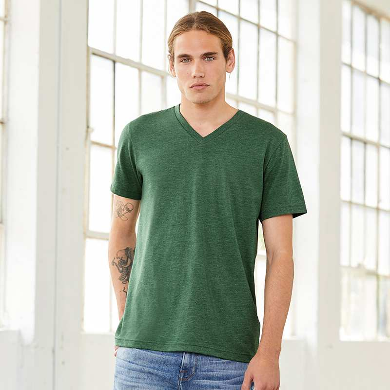 Unisex Triblend V-Neck T-Shirt