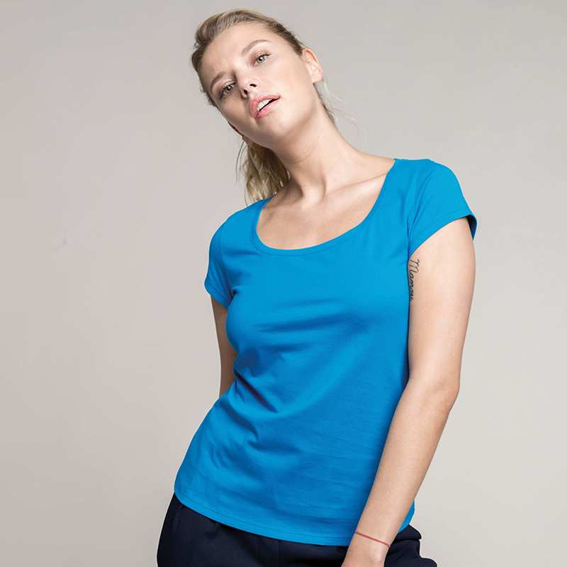Women's Boat Neck T-Shirt