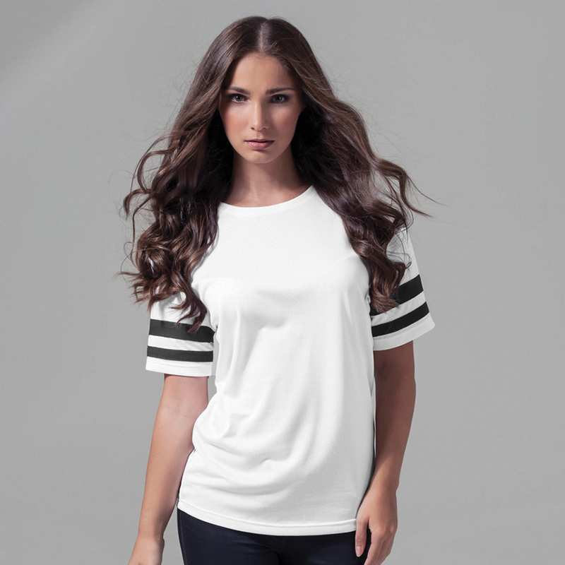 Women's Mesh Stripe Tee
