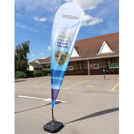 Display/standard Teardrop Flags   1