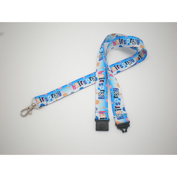 Promotional Products: PP-EM01F 20mm Dye Sublimation Lanyard