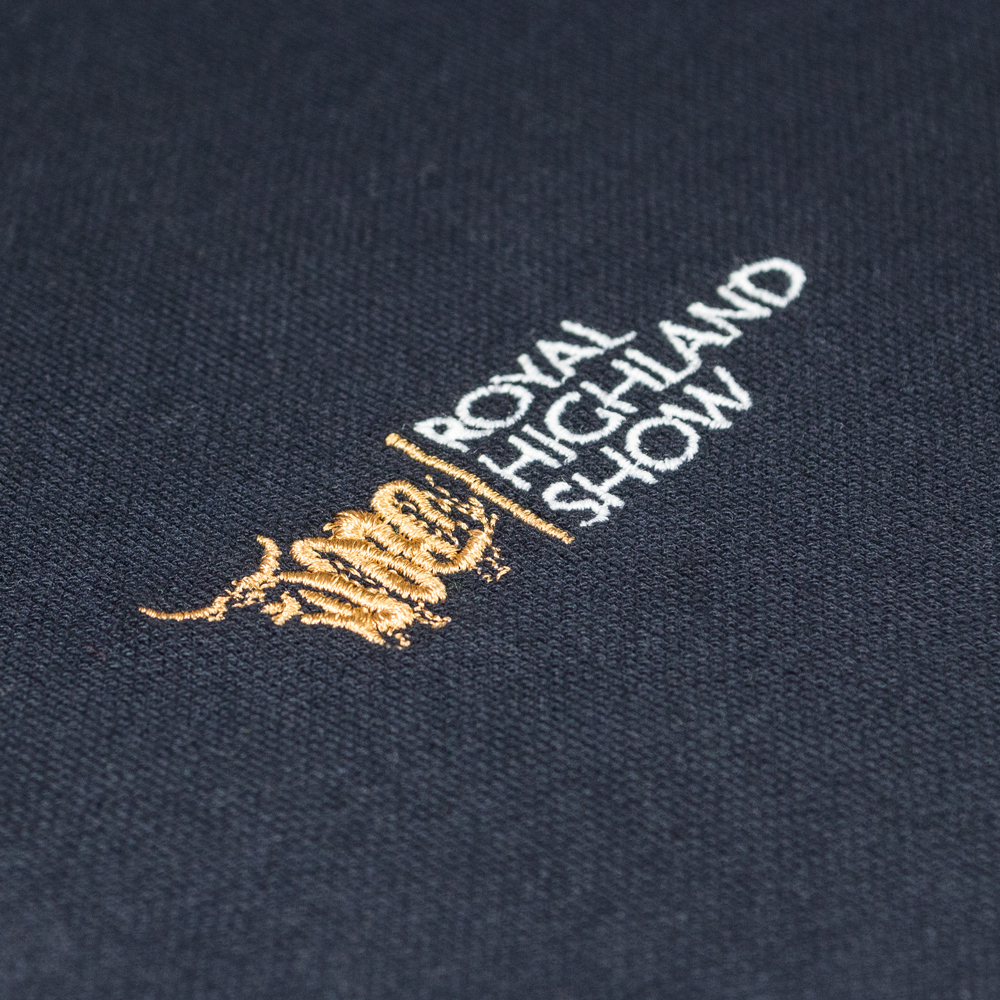 Embroidery for promotional workwear and clothing